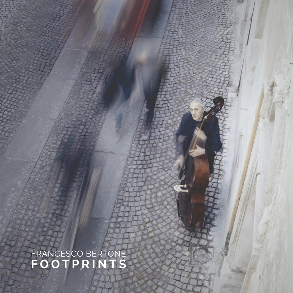 Copertina album Footprints di Francesco Bertone